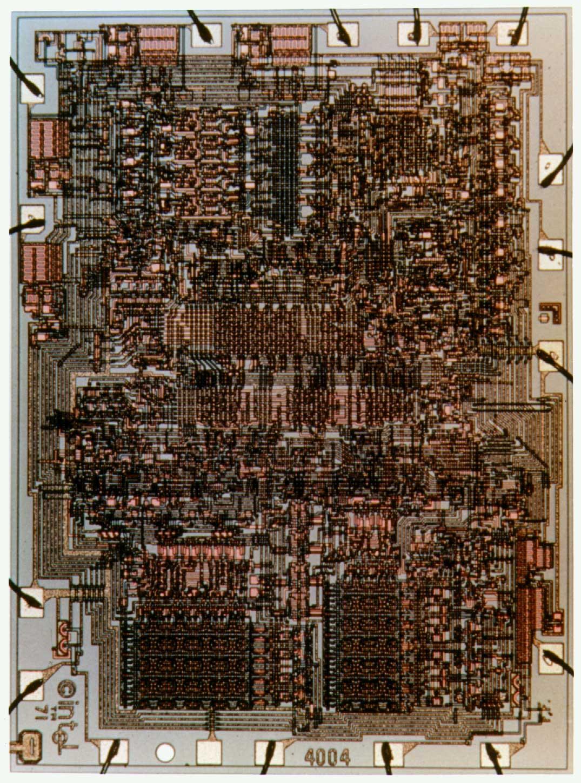 Микросхеме Intel 4004 исполнилось 45 лет. Немного истории ИТ - 3