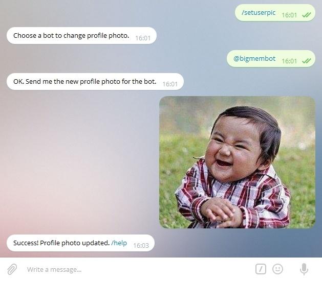 Склад мемов или Бот для Telegram — Часть 1 - 8