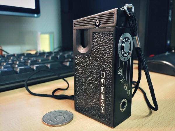 «Киев-30»: как я снимал на «шпионский» фотоаппарат - 1