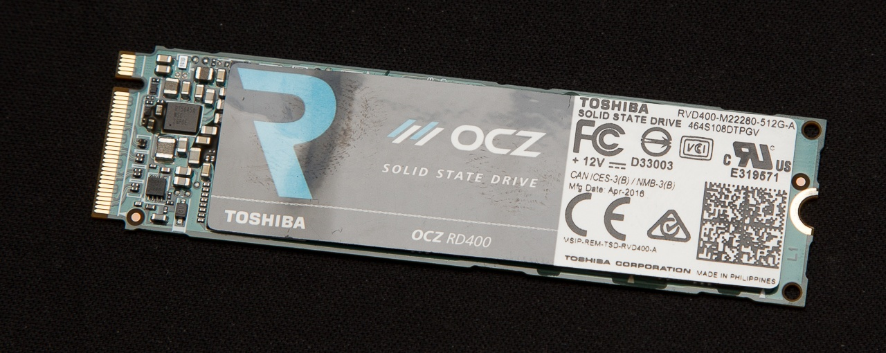 Обзор SSD накопителя OCZ RD400 — Citius, Altius, Fortius - 12