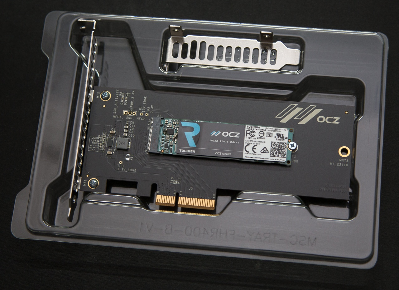 Обзор SSD накопителя OCZ RD400 — Citius, Altius, Fortius - 5