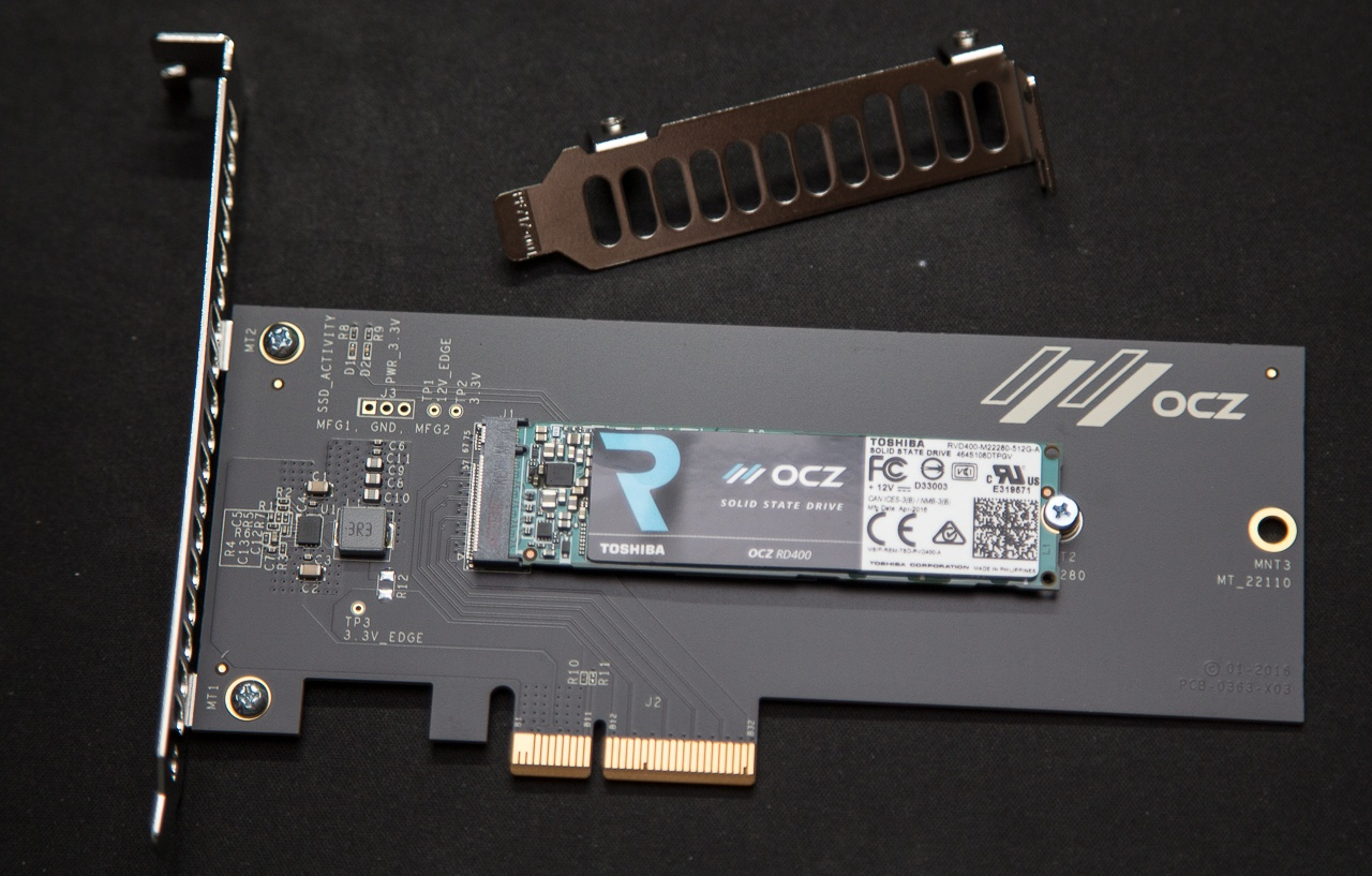 Обзор SSD накопителя OCZ RD400 — Citius, Altius, Fortius - 7