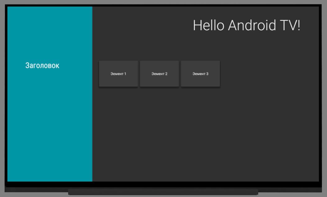 Введение в разработку приложений для Android TV - 5