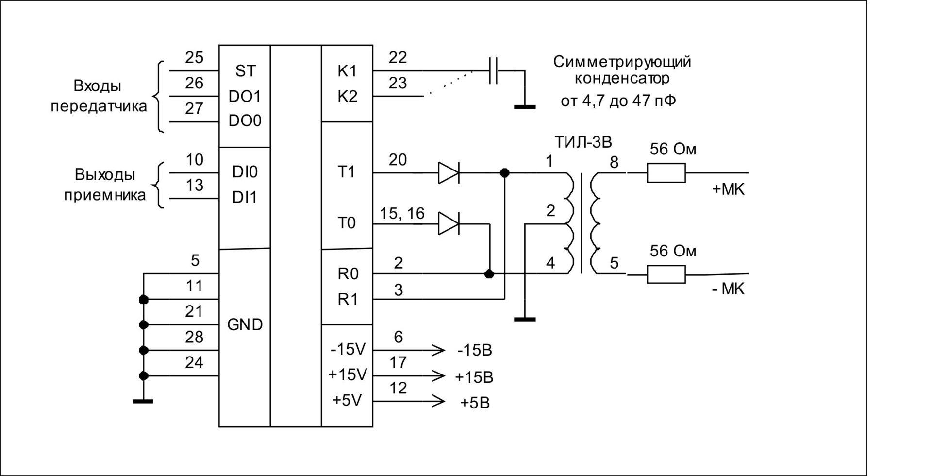 Реализация протокола MIL-STD-1553 на STM32 - 3