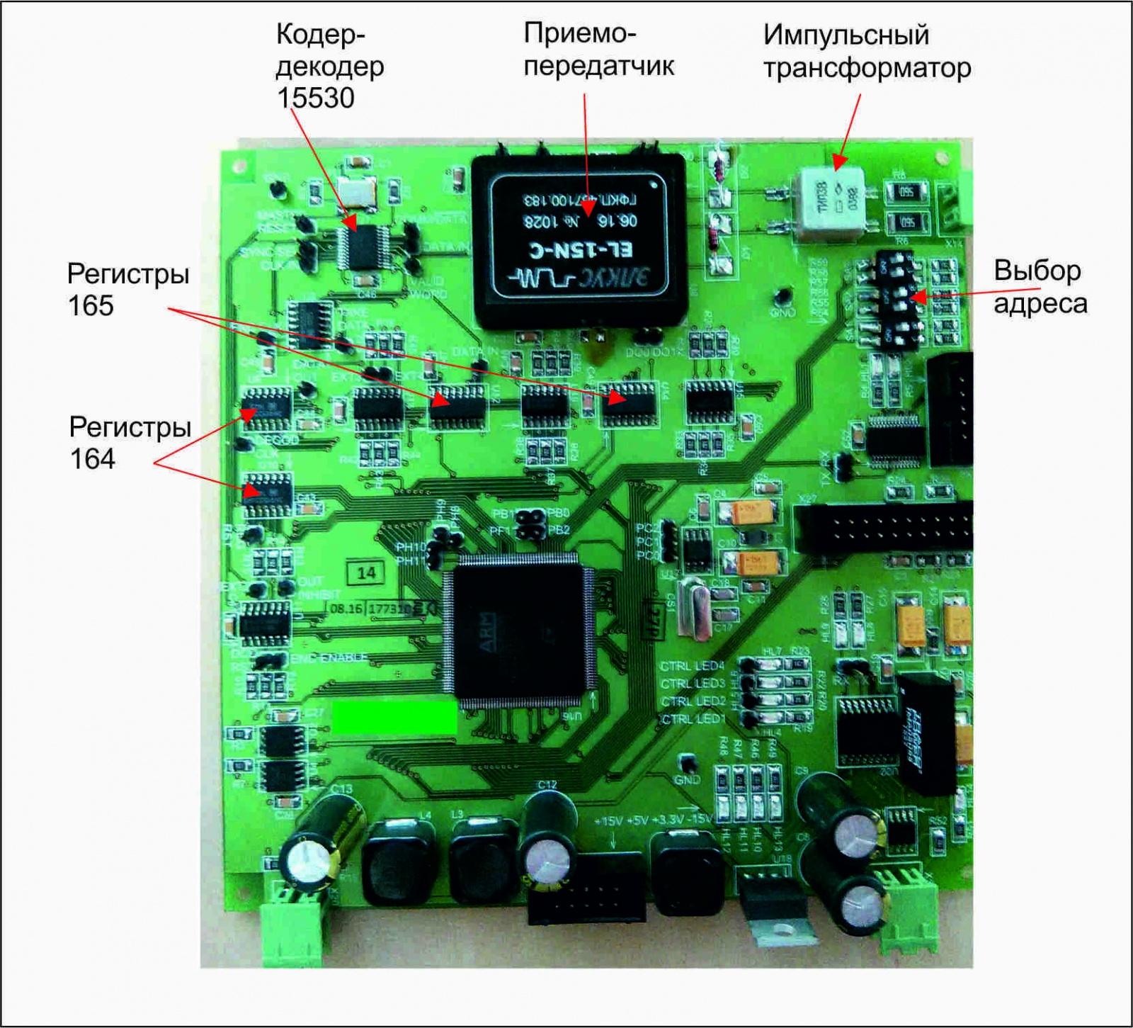 Реализация протокола MIL-STD-1553 на STM32 - 4