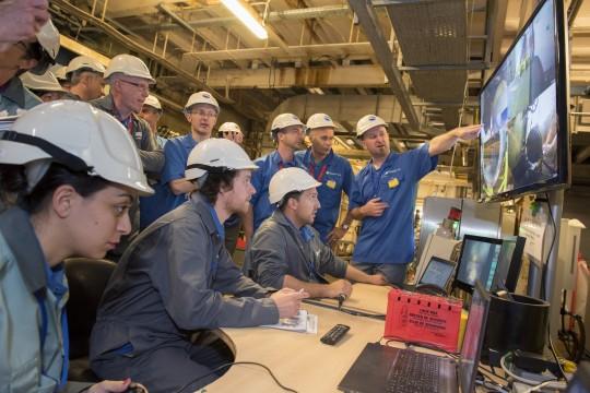 Робот-змея для лазерной резки ядерных отходов - 7