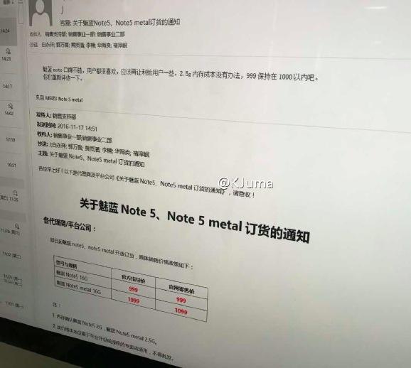 Meizu M5 Note, стоимость