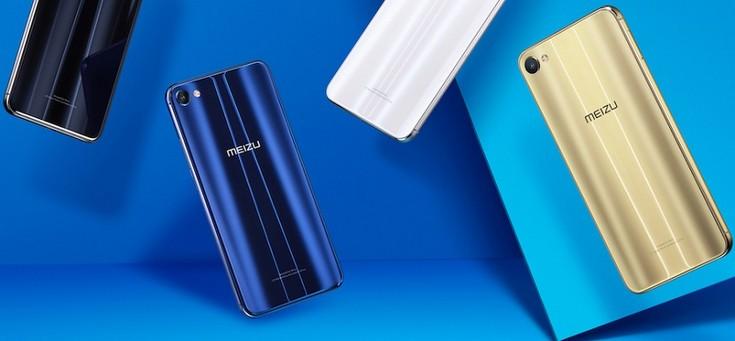 Представлен смартфон Meizu X