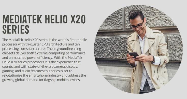 Представлены SoC MediaTek Helio X23 и Helio X27