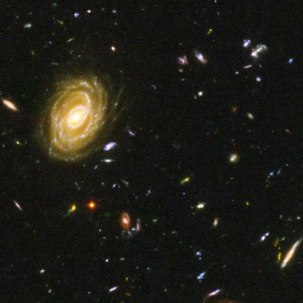 Галактики, двигающиеся со скоростью света - 8