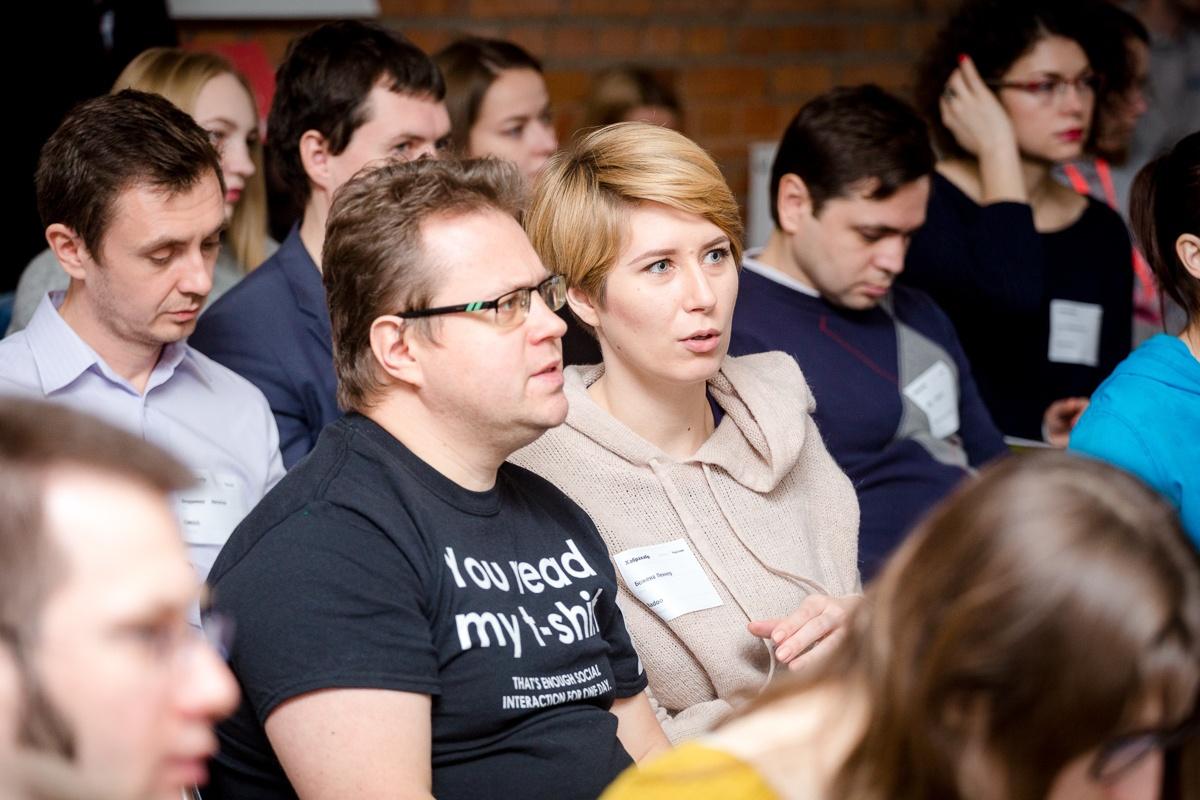 Отчёт с зимнего хабрасеминара TechMedia в Москве - 13