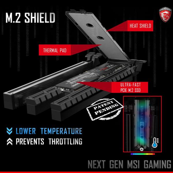 MSI предложит дополнительно охлаждать SSD формата M.2