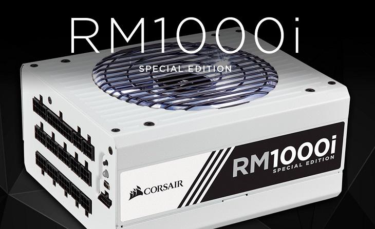 БП Corsair RM1000i Special Edition поддерживает шину Corsair Link