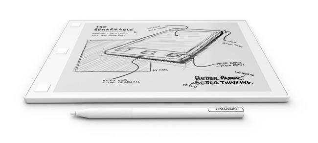 Планшет reMarkable с экраном Canvas предназначен для тех, кто привык работать с бумагой