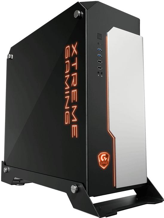 Корпус Gigabyte XC700W лишен вентиляторов, забирающих воздух