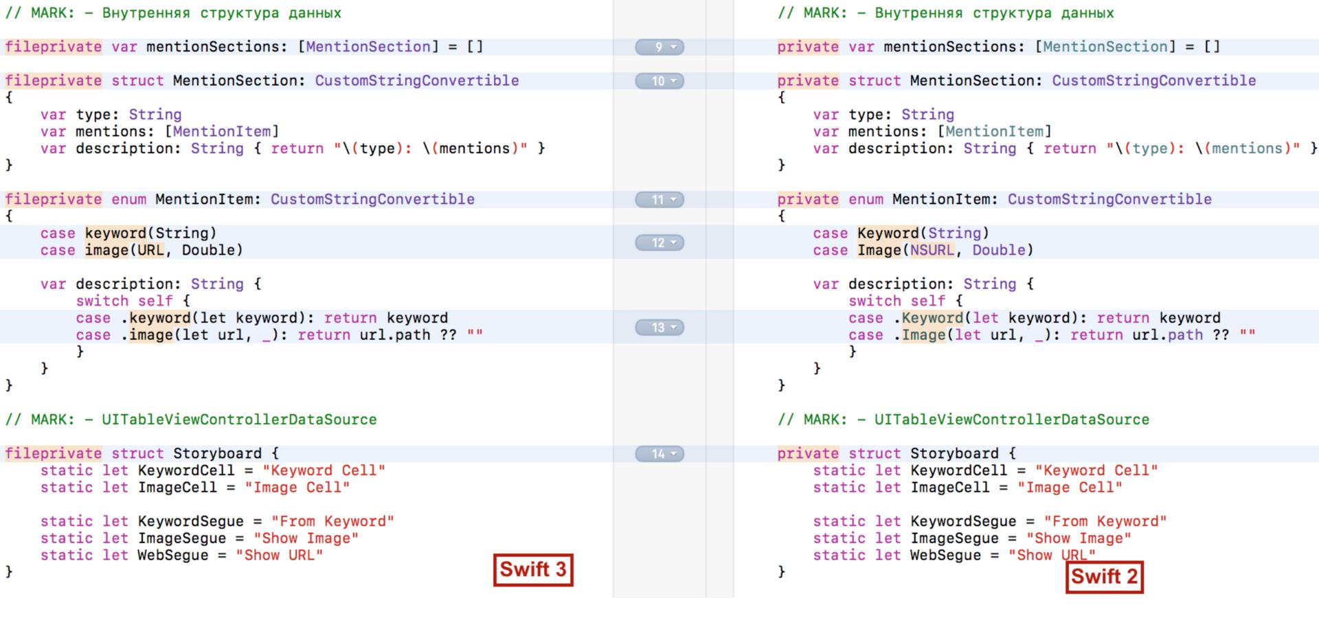 Переходим на Swift 3 с помощью миграционного «робота» в Xcode 8.1 и 8.2 - 11