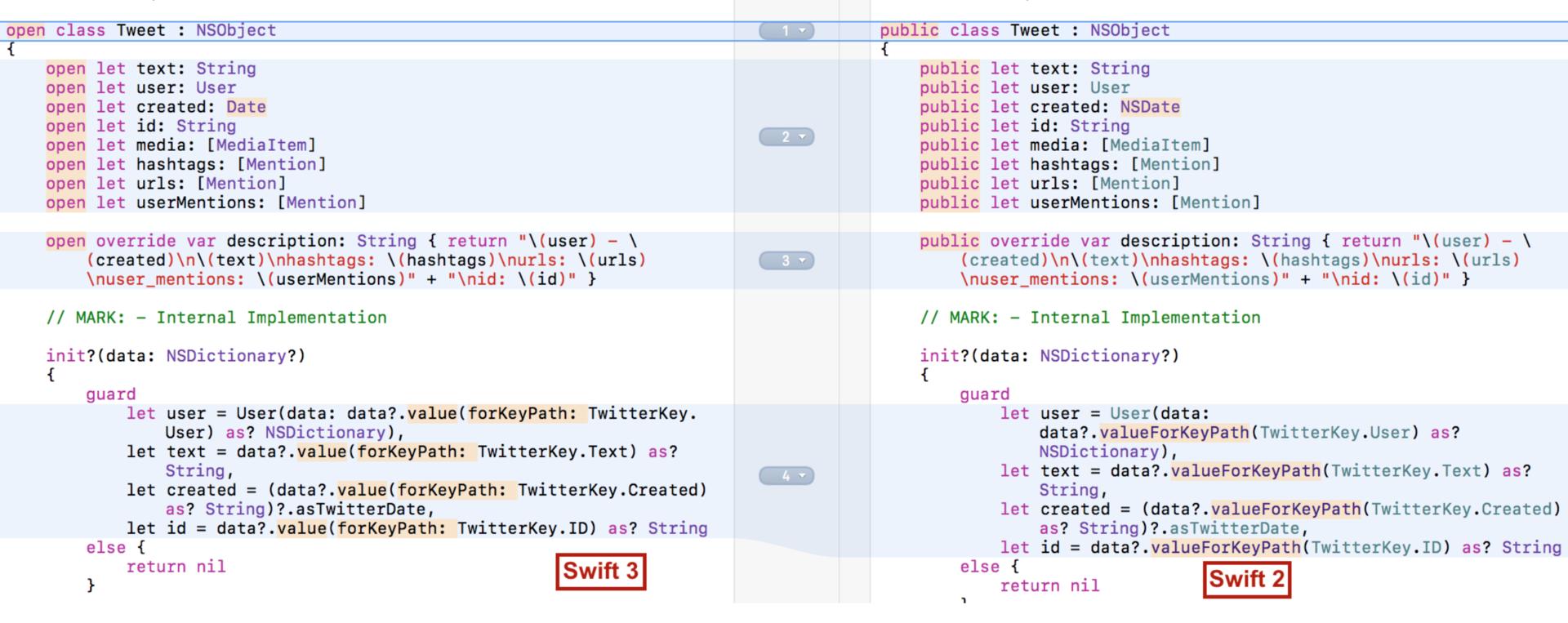 Переходим на Swift 3 с помощью миграционного «робота» в Xcode 8.1 и 8.2 - 13