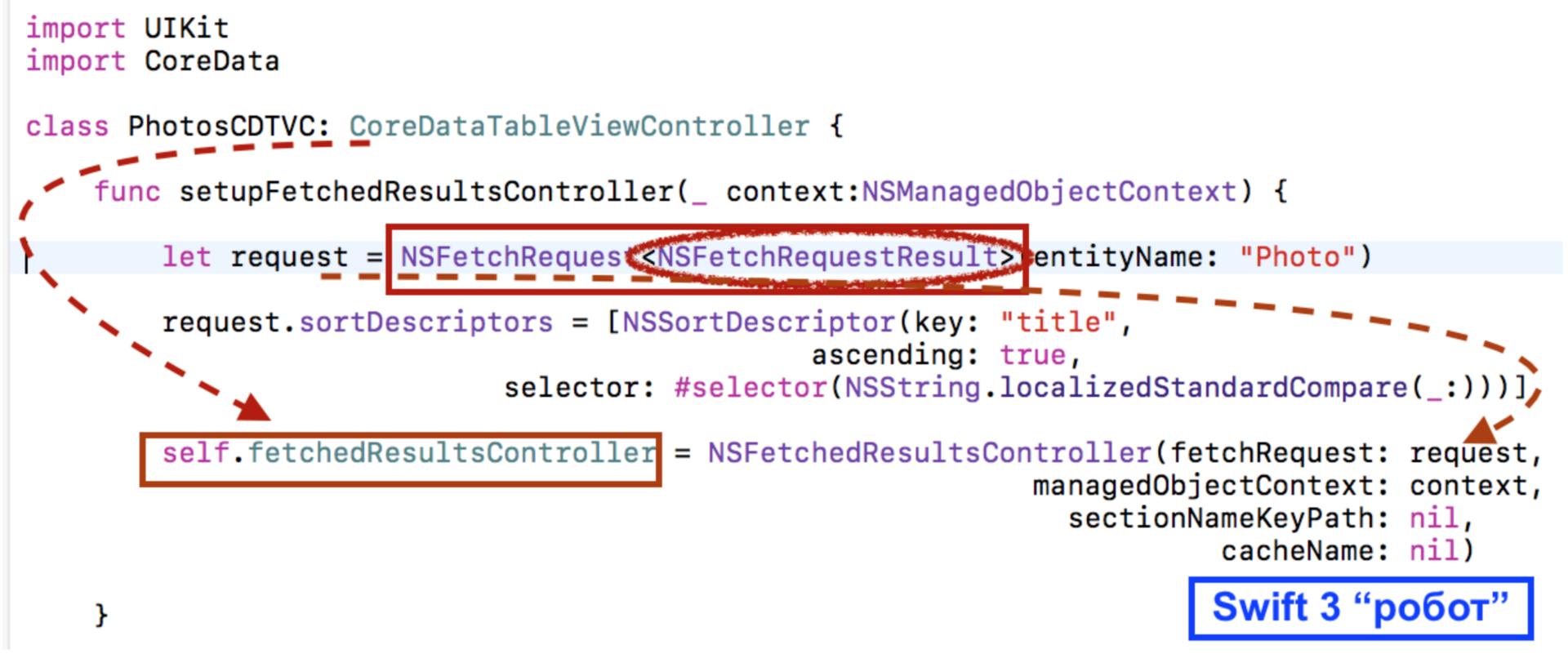 Переходим на Swift 3 с помощью миграционного «робота» в Xcode 8.1 и 8.2 - 48