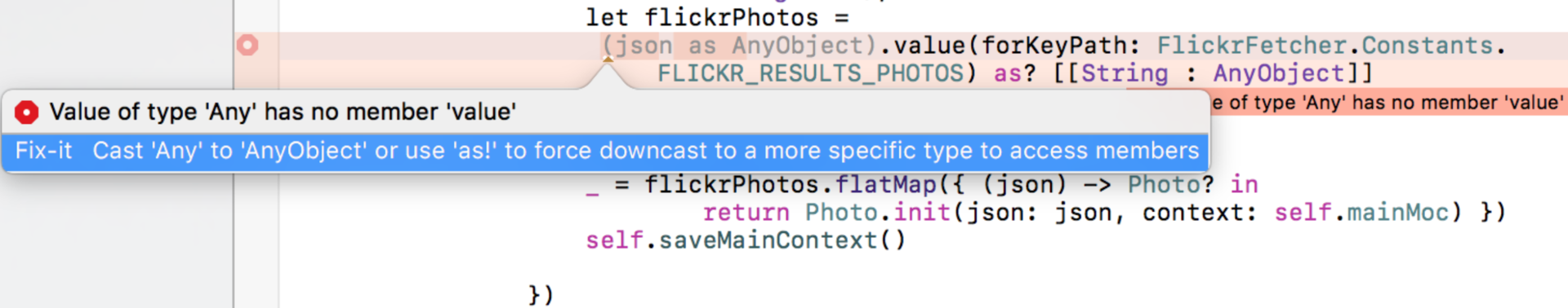 Переходим на Swift 3 с помощью миграционного «робота» в Xcode 8.1 и 8.2 - 5