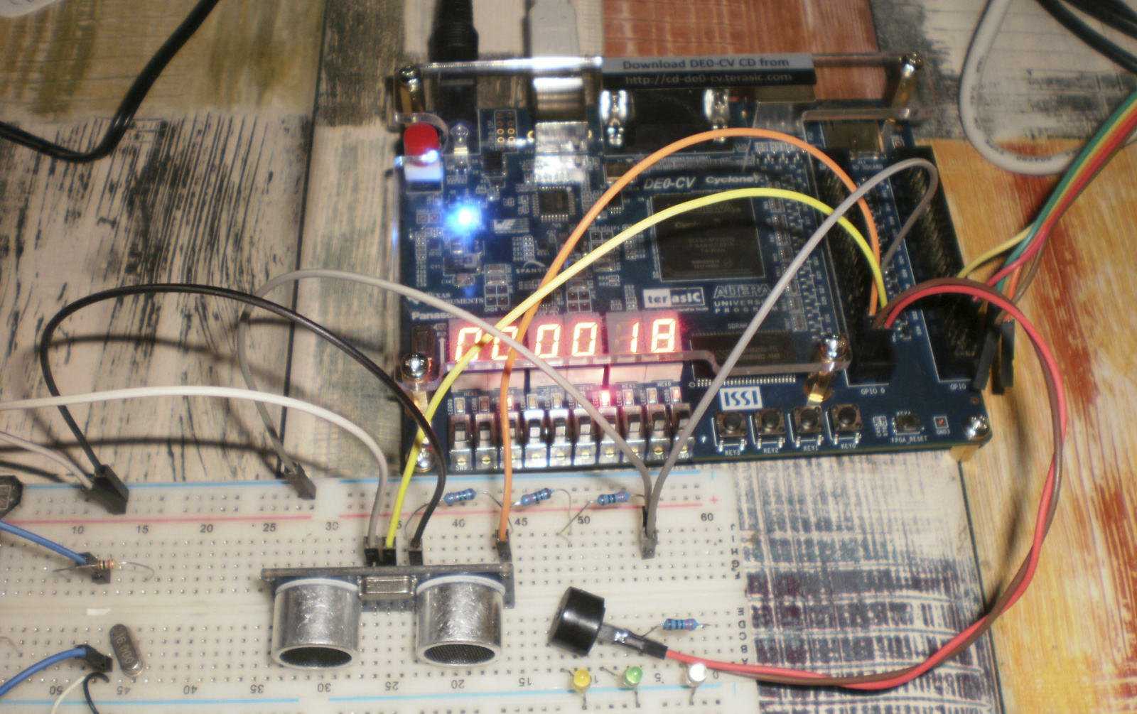 Подключение периферийных модулей к MIPSfpga, на примере ультразвуковых датчиков расстояния - 8
