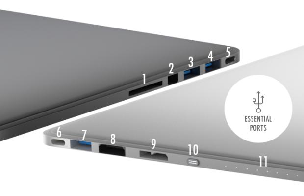 Line Dock — внешний аккумулятор, накопитель, концентратор с системой активного охлаждения и возможностью беспроводной зарядки устройств