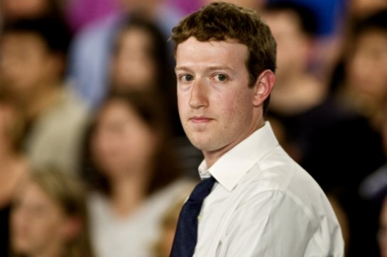 Из Фейсбук исчезли посты его основателя