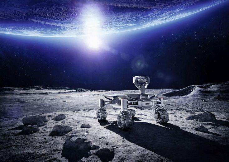 Луноход Audi Lunar Quattro готов к отправке на Луну