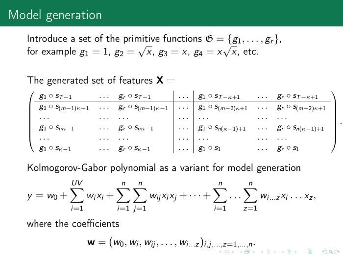 Порождение и выбор моделей машинного обучения. Лекция в Яндексе - 8