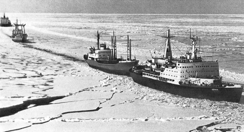 Мирный атом взламывает льды: наш атомный ледокольный флот - 12