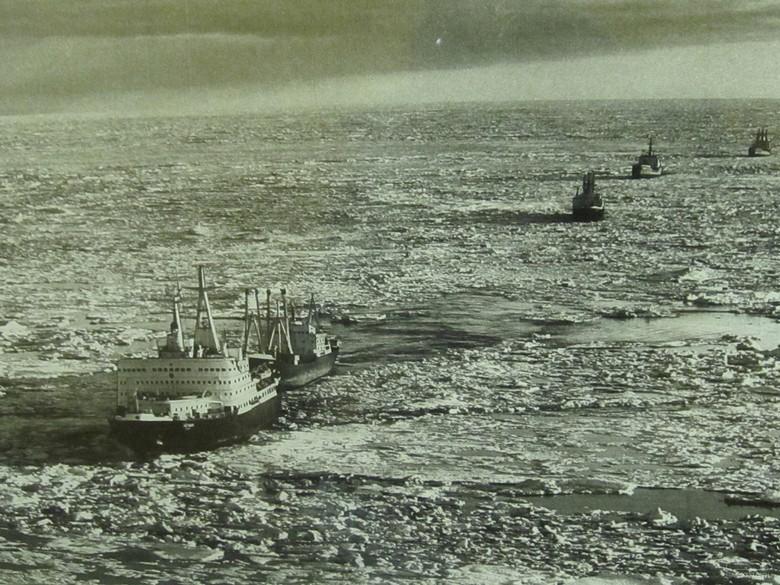Мирный атом взламывает льды: наш атомный ледокольный флот - 16