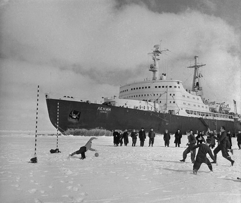 Мирный атом взламывает льды: наш атомный ледокольный флот - 17