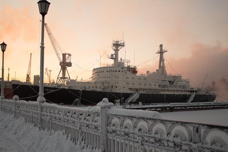 Мирный атом взламывает льды: наш атомный ледокольный флот - 20