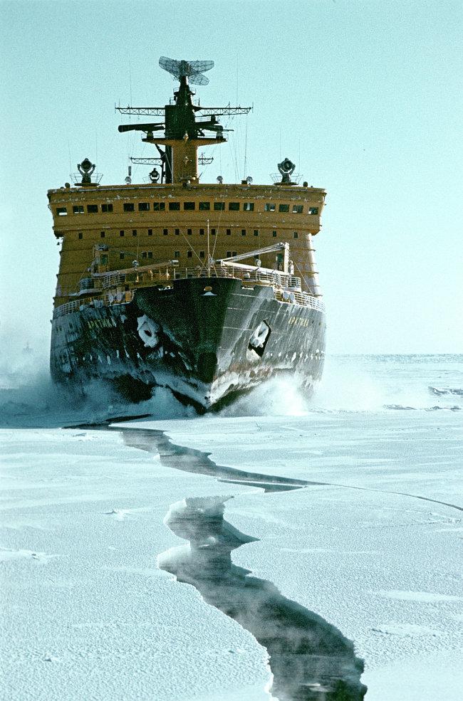 Мирный атом взламывает льды: наш атомный ледокольный флот - 26