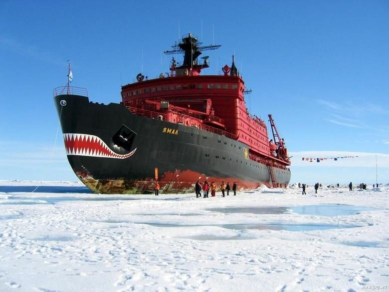 Мирный атом взламывает льды: наш атомный ледокольный флот - 40