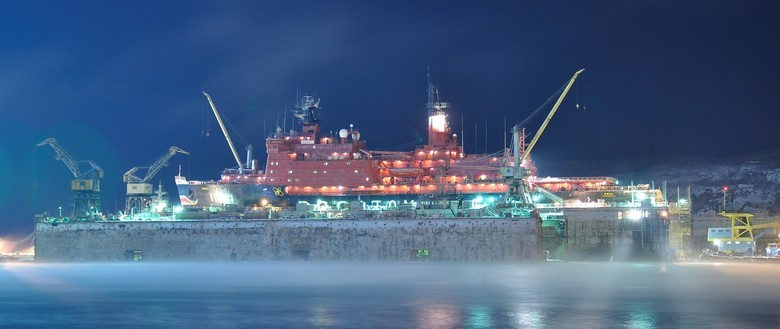 Мирный атом взламывает льды: наш атомный ледокольный флот - 43
