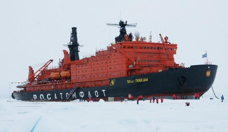 Мирный атом взламывает льды: наш атомный ледокольный флот - 45