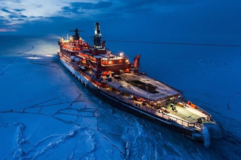 Мирный атом взламывает льды: наш атомный ледокольный флот - 49