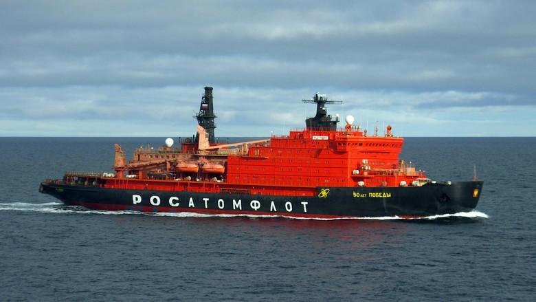 Мирный атом взламывает льды: наш атомный ледокольный флот - 50