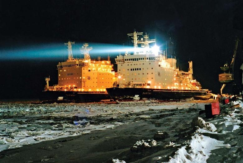 Мирный атом взламывает льды: наш атомный ледокольный флот - 55