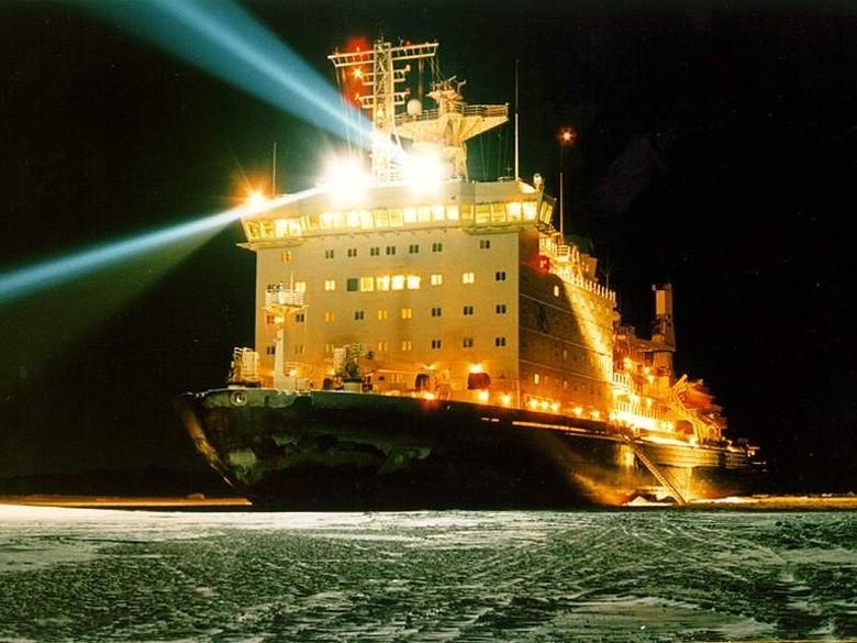 Мирный атом взламывает льды: наш атомный ледокольный флот - 56