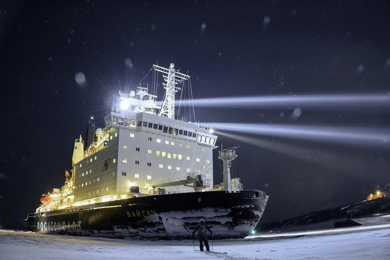 Мирный атом взламывает льды: наш атомный ледокольный флот - 57