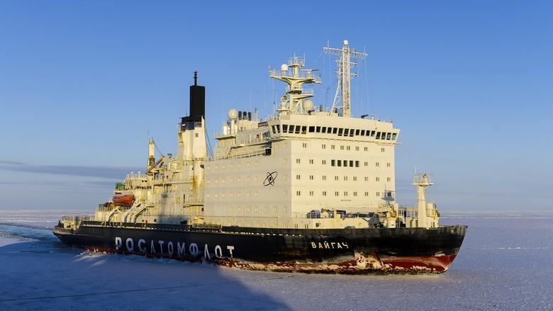 Мирный атом взламывает льды: наш атомный ледокольный флот - 58