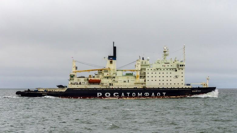 Мирный атом взламывает льды: наш атомный ледокольный флот - 59