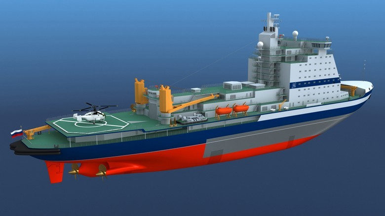 Мирный атом взламывает льды: наш атомный ледокольный флот - 65