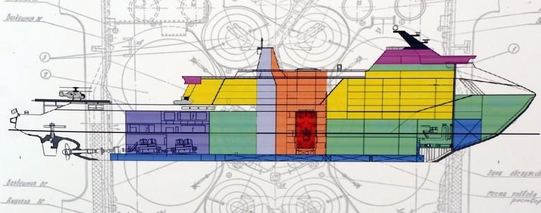 Мирный атом взламывает льды: наш атомный ледокольный флот - 69