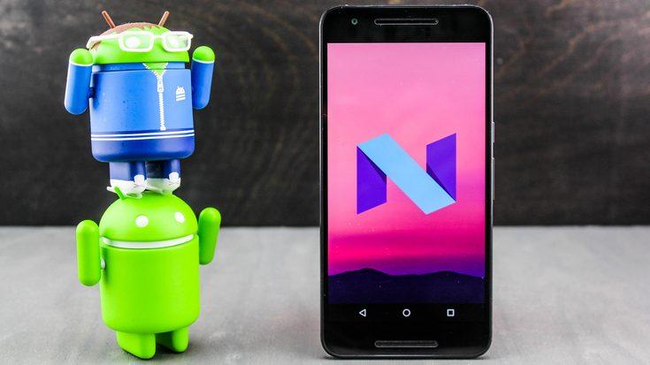 Android Nougat установлена лишь на 0,4% активных устройств