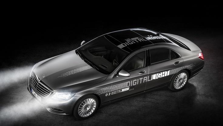 Оптика Mercedes-Benz Digital Light работает благодаря миллионам микрозеркал