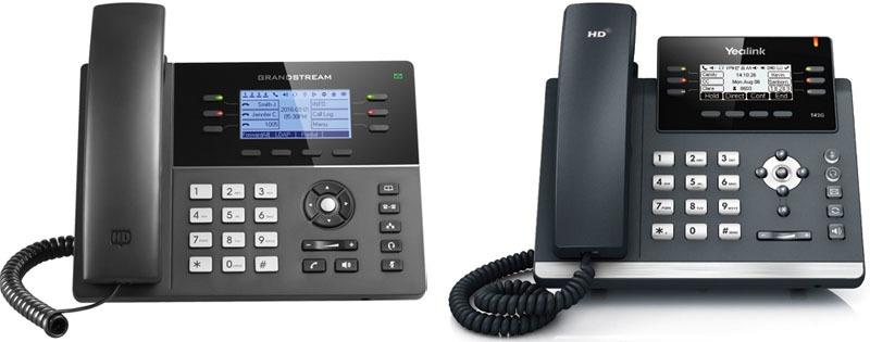 Новая серия IP-телефонов Grandstream GXP1700 - 2