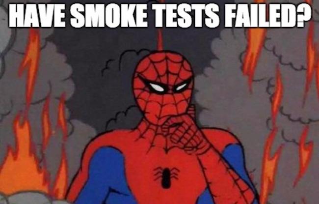 Покрываем проект smoke-тестами, пока он не сгорел - 1
