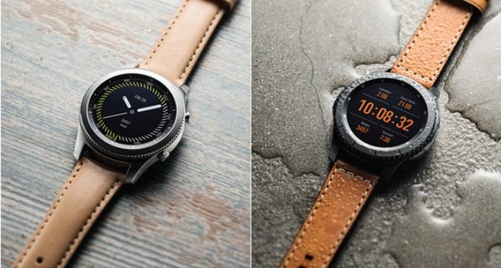 Strap Studio и SLG Design показали ремешки для Samsung Gear S3